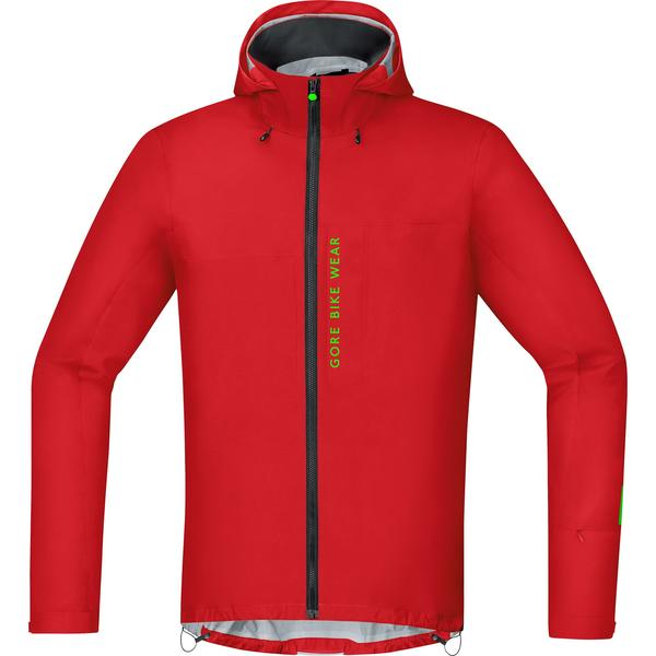 Gore Wear Power Trail Gore-Tex Active Jacket Color: Red