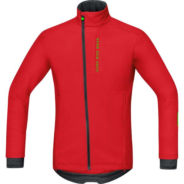 Gore Wear Power Trail Windstopper Soft Shell Jacket Color: Red