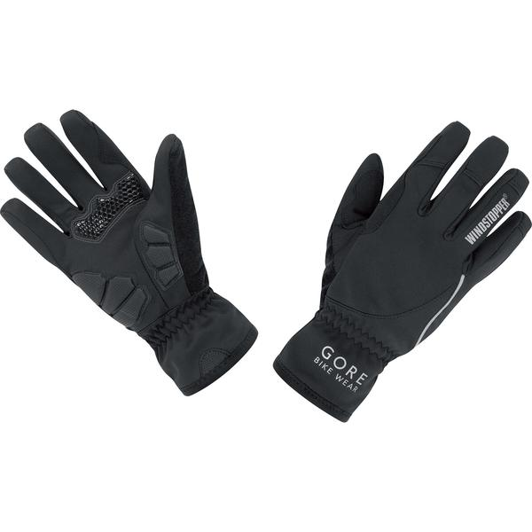 Gore Wear Power Windstopper Soft Shell Lady Gloves Color: Black