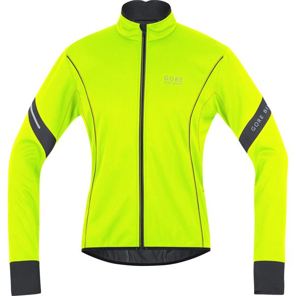 Gore Wear Power 2.0 Windstopper Soft Shell Jacket Color: Neon Yellow