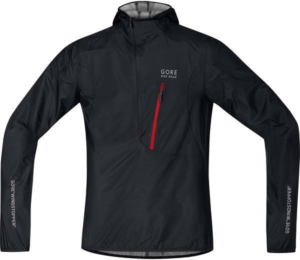 Gore Wear Rescue Windstopper Active Shell Jacket Color: Black