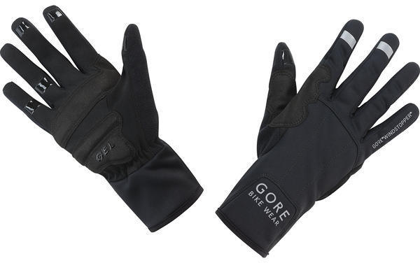 Gore Wear UNIVERSAL GORE WINDSTOPPER Mid Gloves Color: Black