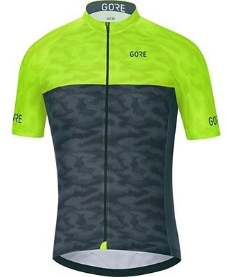 Gore Wear C3 Cameleon Jersey Color: Black/Neon Yellow