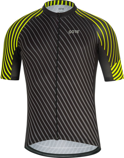 Gore Wear C3 Jersey D Color: Black/Neon Yellow