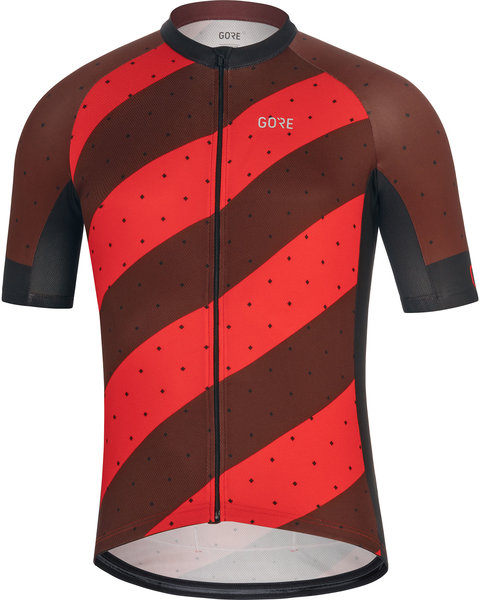 Gore Wear C3 Jersey F Color: Red/Black