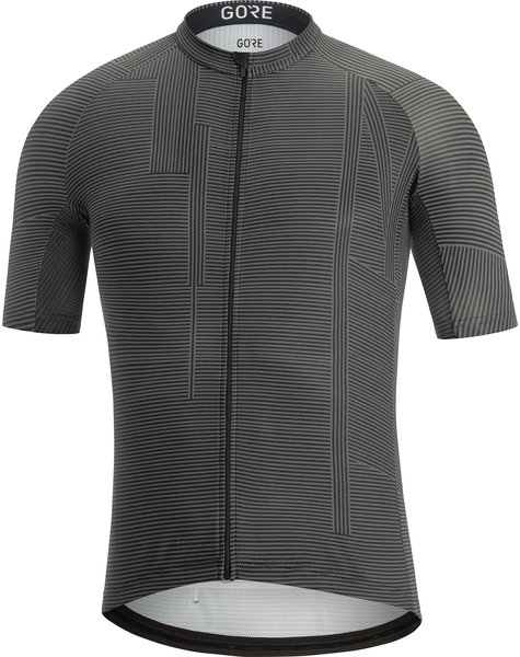 Gore Wear C3 Line Brand Jersey Color: Black/Graphite Grey