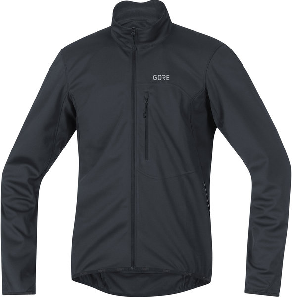 Gore Wear C3 GORE WINDSTOPPER Element Jacket Color: Black