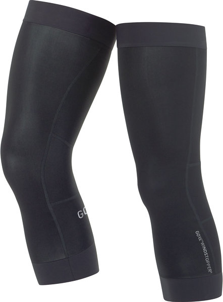 Gore Wear C3 GORE WINDSTOPPER Knee Warmers Color: Black