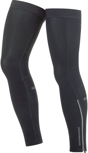 Gore Wear C3 GORE WINDSTOPPER Leg Warmers Color: Black