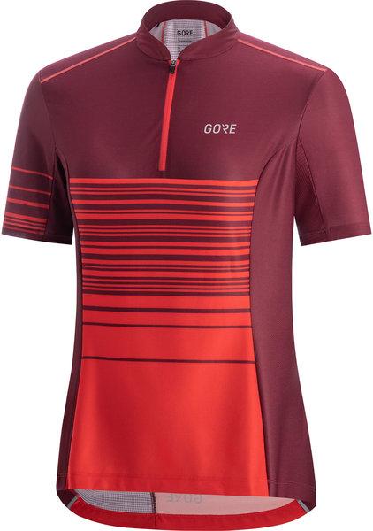 Gore Wear C3 Women Striped Zip Jersey
