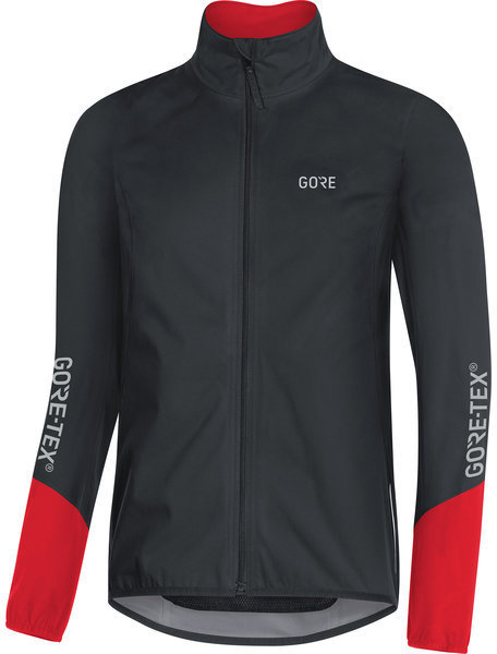 Gore Wear C5 GORE-TEX Active Jacket Color: Black/Red