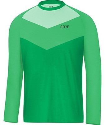 Gore Wear C5 Trail Long Sleeve Jersey Color: Desert Green