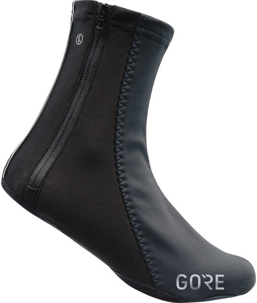 Gore Wear C5 GORE WINDSTOPPER Thermo Overshoes Color: Black