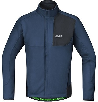 Gore Wear C5 GORE WINDSTOPPER Thermo Trail Jacket Color: Deep Water Blue/Black