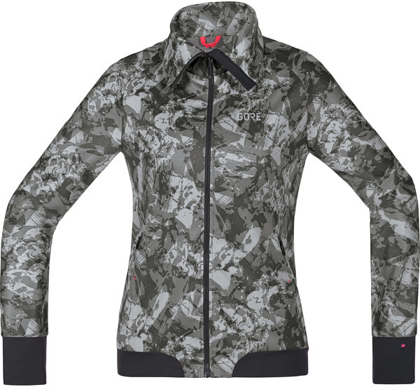Gore Wear C5 Women GORE WINDSTOPPER Trail Camo Jacket