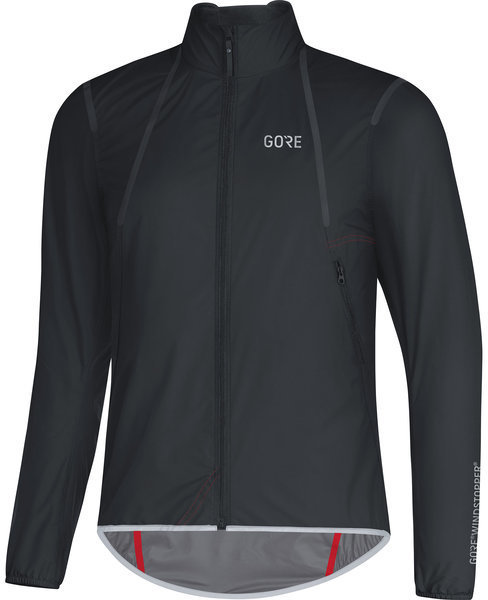 Gore Wear C7 GORE WINDSTOPPER Light Jacket Color: Black