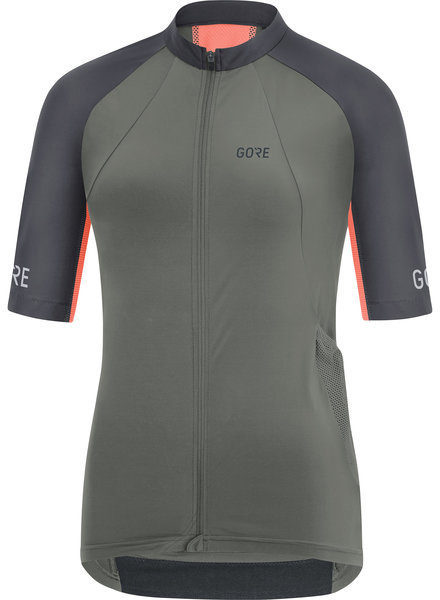 Gore Wear C7 Women Pro Jersey Color: Castor Grey/Terra Grey