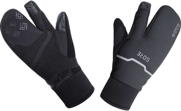 Gore Wear GORE-TEX INFINIUM Thermo Split Gloves Color: Black