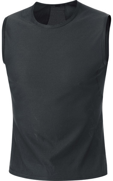 Gore Wear M Base Layer Sleeveless Shirt Color: Black