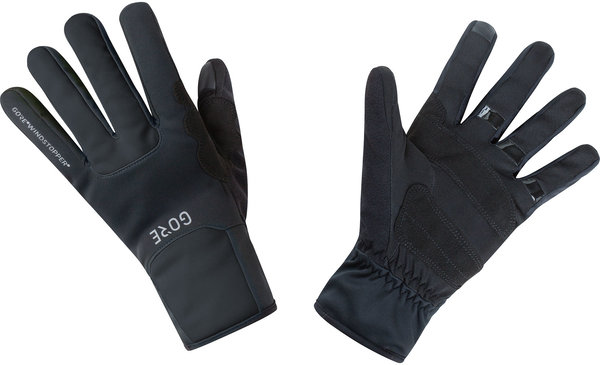 Gore Wear M GORE WINDSTOPPER Thermo Gloves Color: Black