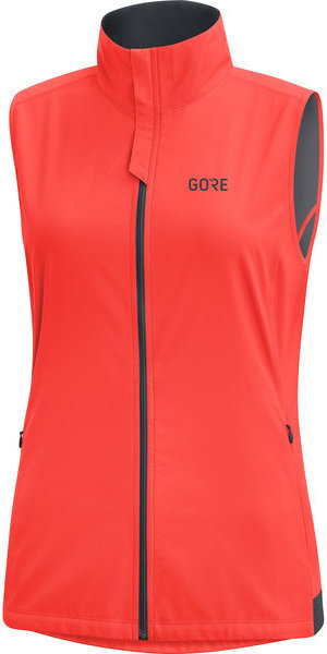 Gore Wear R3 Women GORE WINDSTOPPER Vest Color: Lumi Orange