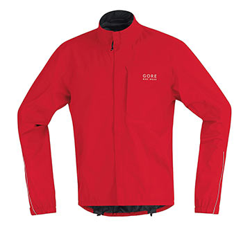 Gore Wear Path Jacket Color: Red