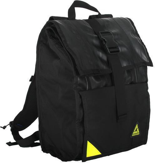 Green Guru Commuter 24L Roll Top Backpack Color: Black