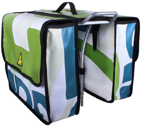 Green Guru Double Dutch Dual 40L Everybike Pannier Image differs from actual product