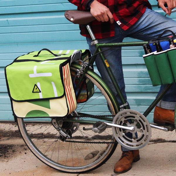 GREEN GURU Dutchy Pannier Bike Bag