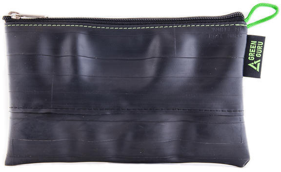 Green Guru Zipper Pouch Grand Color: Black