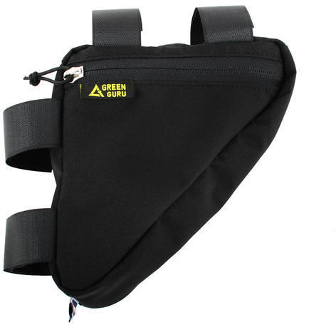 Green Guru Gripster Frame Bag Color: Black