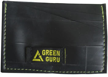 Green Guru ID Card Wallet Color: Black