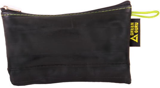 Green Guru Zipper Pouch Mid-Size Color: Black