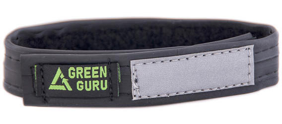Green Guru Narrow Ankle Strap Color: Black