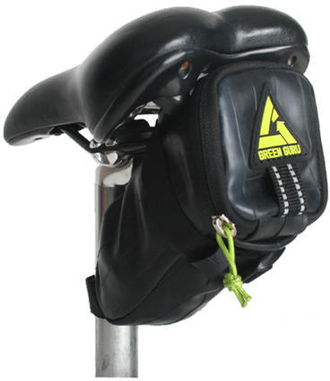 Green Guru Shifter Saddle Bag Color: Black
