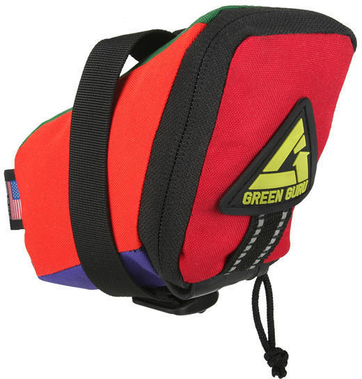 Green Guru Transition Saddle Bag Image differs from actual product