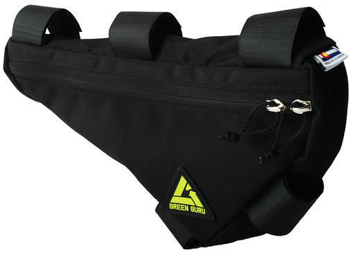 Green Guru Upshift Frame Bag - Large Color: Black