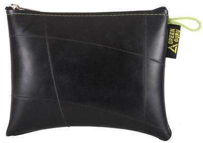Green Guru Zipper Pouch Large Color: Black