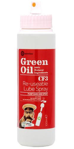 Green Oil CF3 Re-usable Lube Spray