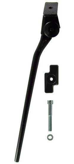 Greenfield Kickstand w/RetroKit Color: Black