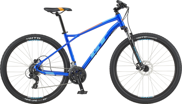 GT Aggressor Expert Color: Electric Blue