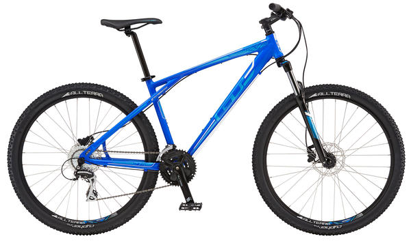 GT Aggressor Expert Color: Blue/Process Blue