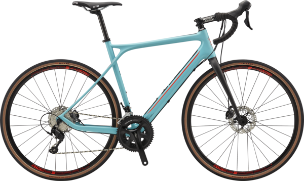 GT Grade Carbon Expert Color: Turquoise