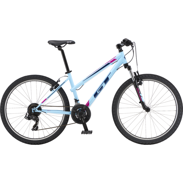 GT Palomar Ladies Color: Gloss Sky Blue & Black w/Ink & Bright Pink