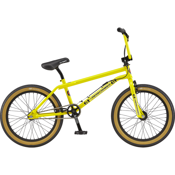GT Pro Performer Color: Gloss Yellow w/Chrome & Black