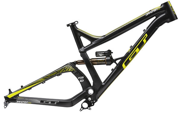 GT Sanction Frame Color: Matte Black