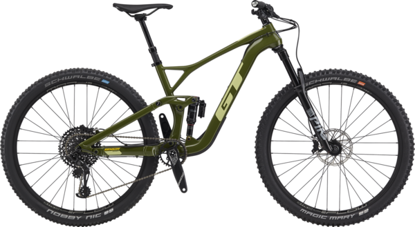 GT Sensor Carbon Expert Color: Military Green