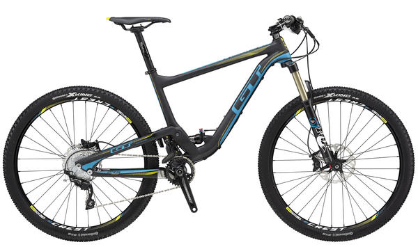 GT Helion Carbon Pro Color: Matte Black/Blue