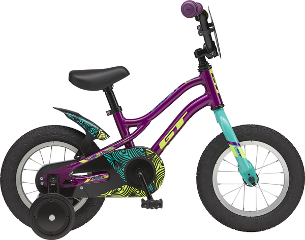 GT Siren Girl's 12 Color: Purple