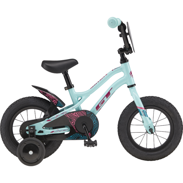 "GT Siren Girl's 12"" Color: Gloss Turquoise w/Magenta, Mustang, & Pink"